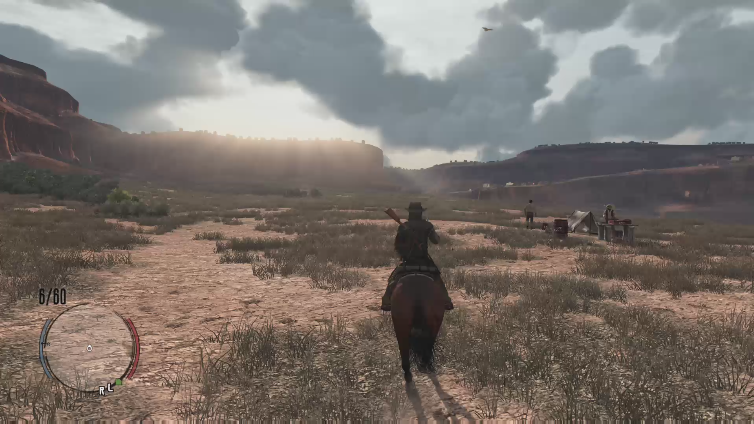 SpkrOfTheDed playing Red Dead Redemption