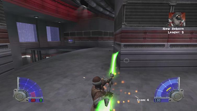 PathogenSniper playing Star Wars Jedi Knight: Jedi Academy